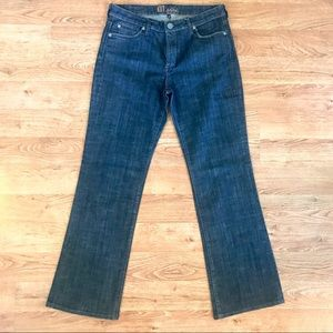 Kut From The Kloth Dark Wash Boot Cut Jeans 10